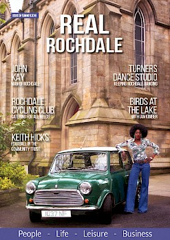 Cover of Real Rochdale Magazine - Summer 2019